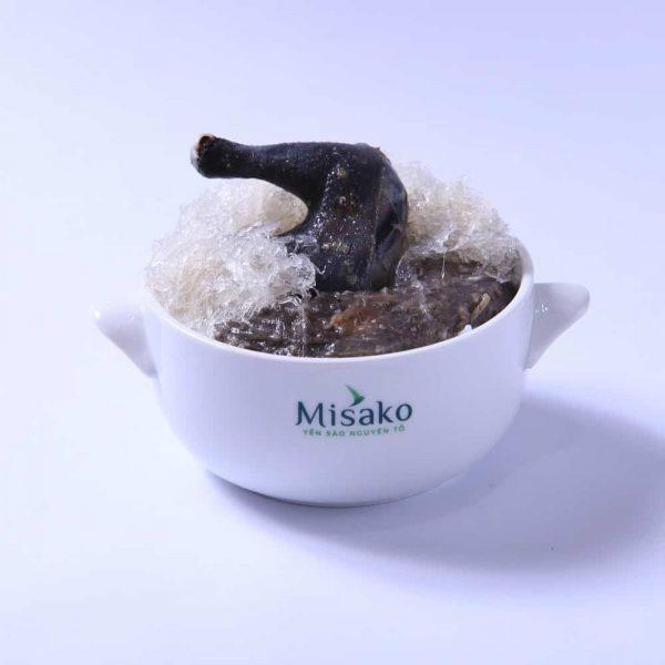 Cháo Tổ Yến Gà Ác Misako