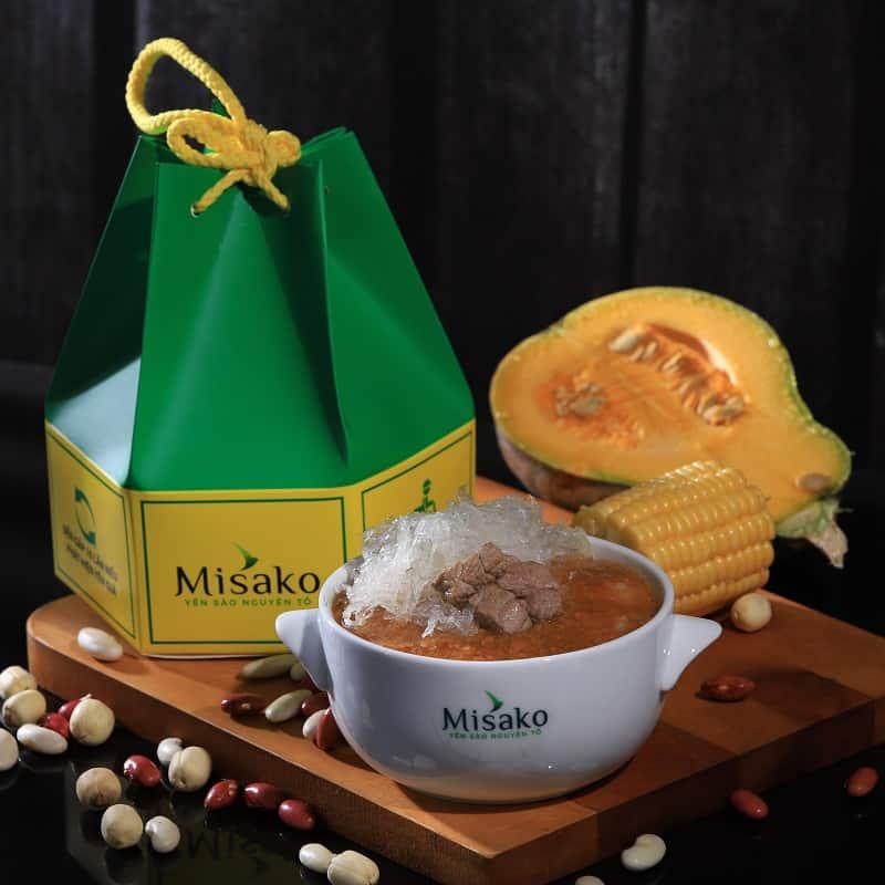 cháo Tổ Yến Thịt Bò Misako