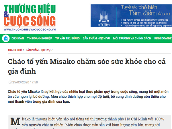 chao to yen misako cham soc suc khoe gia dinh