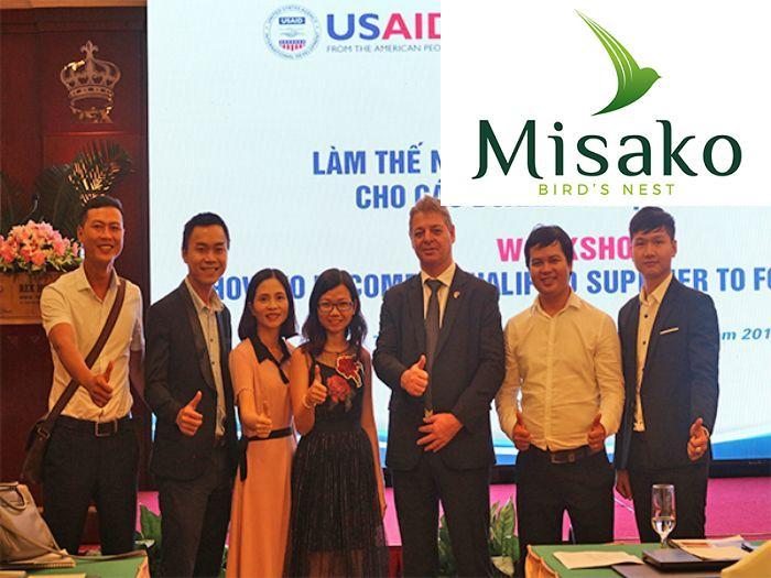 Công ty cổ phần Misako hoạt động trong lĩnh vực thực phẩm chăm sóc sức khỏe