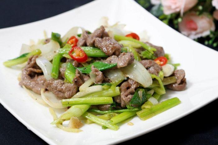 Nếu sử dụng món thịt bò xào tỏi đều đặn cho cơ thể sẽ tăng hệ miễn dịch và chức năng tình dục