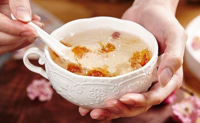 Thời điểm thích hợp nhất để bạn dùng món ăn này chính là buổi tối trước khi đi ngủ khoảng 30 đến 40 phút