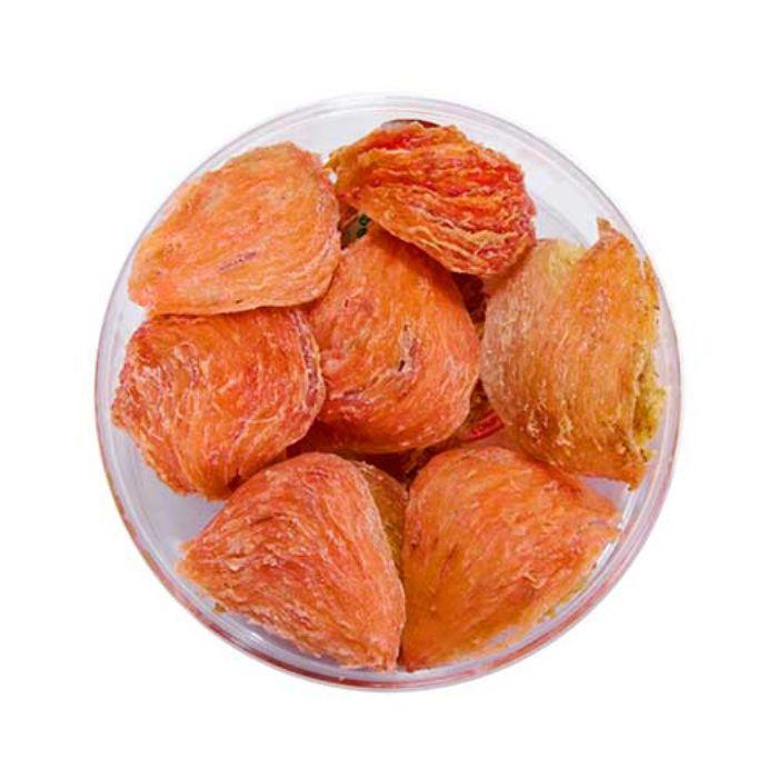Hồng yến được gọi nhờ vào các sợi yến có màu cam, nâu hoặc hồng phớt