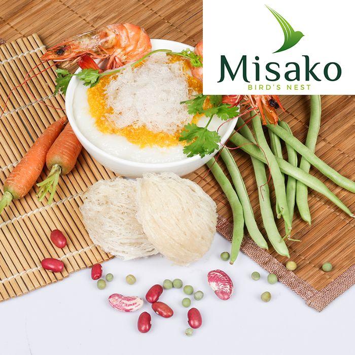 Yến sào Misako cam kết cung cấp những dòng sản phẩm từ tổ yến tốt nhất đến cho mọi khách hàng