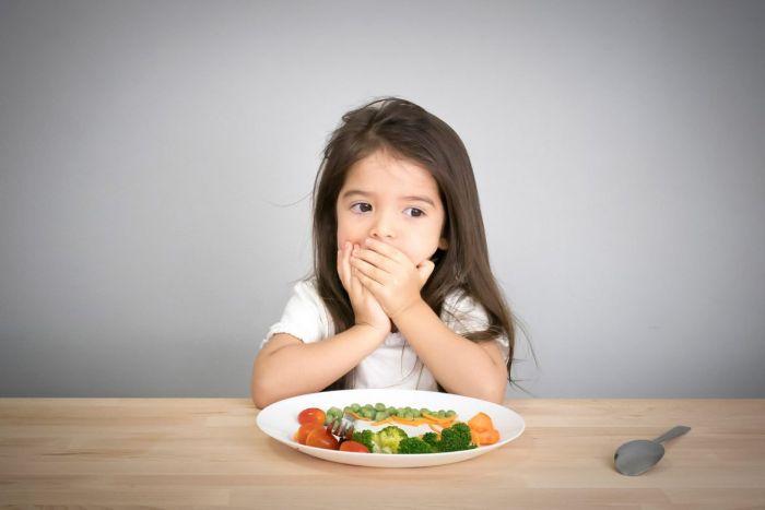Trẻ biếng ăn đôi khi là do thực đơn mỗi bữa ăn quá nhàm chán, không có nhiều sự thay đổi