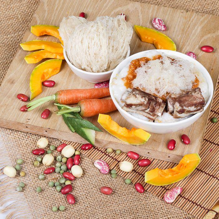 món cháo tổ yến thịt bò là một trong các món ăn bổ máu huyết bạn không nên bỏ qua
