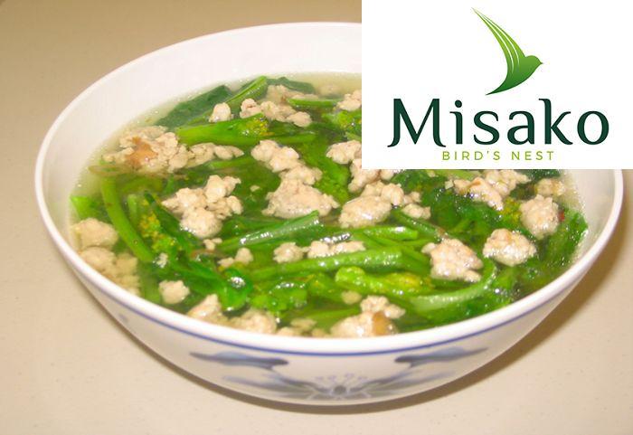 Nếu nhắc đến các món ăn tăng sức đề kháng cho trẻ em thì không thể bỏ qua những món ăn được chế biến từ cải bó xôi