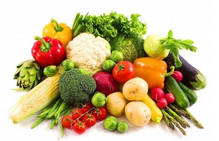 Rau củ tươi cung cấp thêm dưỡng chất cho Cháo Yến